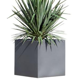 Pflanzbehälter -Pallas- aus Edelstahl