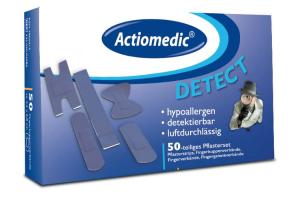 Pflasterset Actiomedic® -Detect-, 50-teilig, für den Lebensmittel-Bereich, VPE 10 Sets (Ausführung: Pflasterset Actiomedic® -Detect-, 50-teilig, für den Lebensmittel-Bereich, VPE 10 Sets (Art.Nr.: 33247))