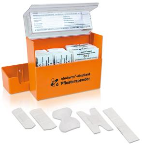 Pflasterspender -aluderm®-aluplast-, inkl. 115 Pflastern (Ausführung: Pflasterspender -aluderm®-aluplast-, inkl. 115 Pflastern (Art.Nr.: 24929))