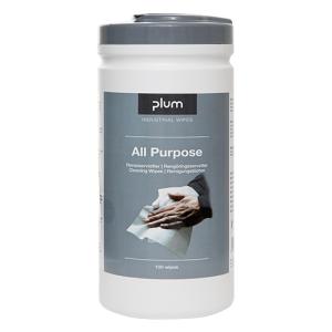 PlumWipes -All-Purpose- Reinigungstücher für Hände, Maschinen und Werkzeuge, 100er-Box (Ausführung: PlumWipes -All-Purpose- Reinigungstücher für Hände, Maschinen und Werkzeuge, 100er-Box (Art.Nr.: 39940))