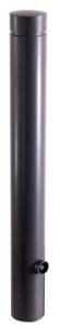 Poller aus starkwandigem Aluminium Ø 100 mm mit Ziernut