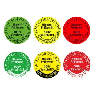 Prüfplaketten und Qualitätskennzeichnung