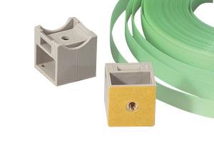 RK-Patenthalter, inkl. Kunststoff-Spannband, VPE 50 Stk. (Ausführung: RK-Patenthalter, inkl. Kunststoff-Spannband, VPE 50 Stk. (Art.Nr.: 90.3403))