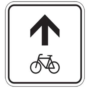 Radwegschilder, Zwischenwegweiser (Maße/Form: 250x250mm/Flachform (Art.Nr.: rzw-e-252521))