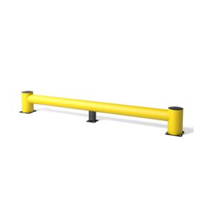 Rammschutzbalken -Bounce Traffic-, Höhe 440 mm, Länge 3450 oder 5050 mm (Länge: 3450 mm (Art.Nr.: 20565-01))