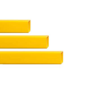 Rammschutzgeländer -Hybrid- Querbalken, flexibel, verschiedene Längen, TÜV-geprüft (Länge/Ausführung: 1500 mm /  <b>für Anfangs-/ End-<br>und Mittelpfosten</b> (Art.Nr.: 36917))