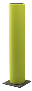 Rammschutzpoller -Rack Armour-, Ø 200 mm, Höhen 600 bis 1200 mm, zum Aufdübeln (Höhe: 600 mm (Art.Nr.: 37515))