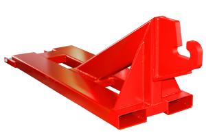 Rangierhilfe -Typ RH-AC-, mit Aufnahmehaken für Abrollcontainer, zum Rangieren von Anhängern (Ausführung: Rangierhilfe -Typ RH-AC-, mit Aufnahmehaken für Abrollcontainer, zum Rangieren von Anhängern (Art.Nr.: 41110))