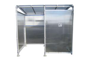 Raucherunterstand -Vapour- aus Aluminium (Ausführung: Raucherunterstand -Vapour- aus Aluminium (Art.Nr.: 36554))