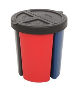 Recyclingeinsatz aus Kunststoff, für -P-Bins 31 und 42-, 15 Liter (Ausführung: Recyclingeinsatz aus Kunststoff, für -P-Bins 31 und 42-, 15 Liter (Art.Nr.: 34097))