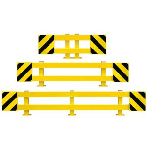 Regalschutz -Mountain- aus Stahl, Höhe 465 mm, mit verstellbarer Breite, zum Aufdübeln (Breite (verstellbar)/Oberfläche: 900 - 1300 mm (Art.Nr.: 25874))