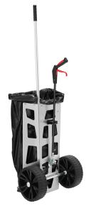 Reinigungswagen -Light Original- für 1 Müllsack à 120 Liter, inkl. Abfallzange -Greifboy 50- (Ausführung: Reinigungswagen -Light Original- für 1 Müllsack à 120 Liter, inkl. Abfallzange -Greifboy 50- (Art.Nr.: 37503))