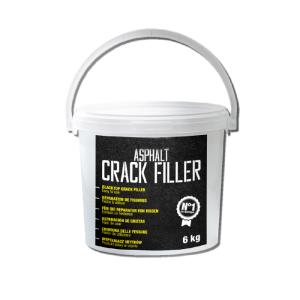 Reparaturbitumen -Crack Filler- zur Instandsetzung von Fugen und Rissen im Asphalt, 6 kg (Ausführung: Reparaturbitumen -Crack Filler- zur Instandsetzung von Fugen und Rissen im Asphalt, 6 kg (Art.Nr.: 39954))