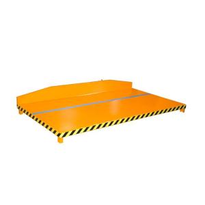 Restgitter-Palette -Typ RGP-, stabile Plattform zum Sammeln und Abkippen