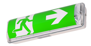 Rettungszeichenleuchte -FROST-LUX ECO- , Erkennungsweite 20-27 m, Wand- oder Deckenmontage (Ausführung: Rettungszeichenleuchte -FROST-LUX ECO- , Erkennungsweite 20-27 m, Wand- oder Deckenmontage (Art.Nr.: 36732))