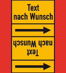 Rohrleitungs-Kennzeichnungsbänder, DIN 2403:2007-05, (Gruppen 4, 5, 8, 9)
