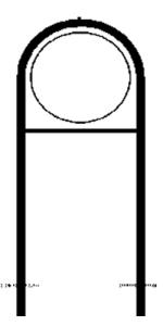 Rohrrahmen Typ 18, inkl. Erdanker (Maße (Ø): Ø 420mm (Art.Nr.: az-1551))