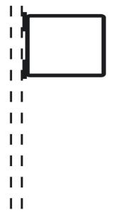 Rohrrahmen Typ 22, inkl. Rohrschelle (Maße (HxB) /Ø Rohrschelle (RS): 420x630 mm /für RS Ø 60mm (Art.Nr.: afs47261))