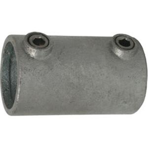 Rohrverbinder -Außen-, aus Temperguss, TÜV-geprüft, VPE 5 - 10 Stk. (für Rohr-Durchmesser/Menge:  <b>26,9 mm</b> / VPE 10 Stk. (Art.Nr.: 31690))