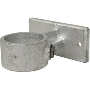 Rohrverbinder -Geländerführung-, aus Temperguss, TÜV-geprüft, VPE 8 - 10 Stk. (für Rohr-Durchmesser/Menge:  <b>26,9 mm</b> / VE 10 Stk. (Art.Nr.: 31672))