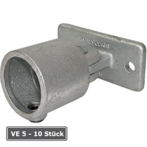 Rohrverbinder -Gelenkfu&szlig;-, VE 5 - 10 St&uuml;ck, aus Temperguss, T&Uuml;V-gepr&uuml;ft (f&uuml;r Rohr-Durchmesser/Verpackungseinheit (VE):  <b>60,3 mm</b> (VE 5 Stk.) (Art.Nr.: 31712))