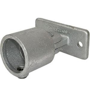 Rohrverbinder -Gelenkfuß-, aus Temperguss, TÜV-geprüft, VPE 5 - 10 Stk. (für Rohr-Durchmesser/Menge:  <b>26,9 mm</b> / VPE 10 Stk. (Art.Nr.: 31708))