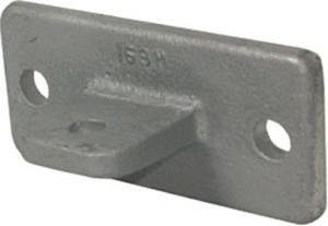 Rohrverbinder -Gelenkfußhalter-, aus Temperguss, TÜV-geprüft (Ausführung: Rohrverbinder -Gelenkfußhalter-, aus Temperguss, TÜV-geprüft (Art.Nr.: 31713))