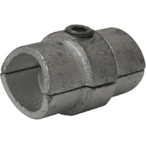 Rohrverbinder -Innen-, aus Temperguss, TÜV-geprüft, VPE 8 - 10 Stk. (für Rohr-Durchmesser/Menge:  <b>33,7 mm</b> / VPE 10 Stk. (Art.Nr.: 31695))