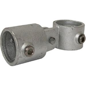 Rohrverbinder -T-Gelenkstück-, aus Temperguss, TÜV-geprüft, VPE 5 - 10 Stk. (Rohr-Durchmesser/Menge:  <b>26,9 mm</b> / VPE 10 Stk. (Art.Nr.: 31724))
