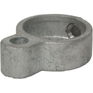 Rohrverbinder -Türöse-, aus Temperguss, TÜV-geprüft, VPE 8 - 10 Stk. (für Rohr-Durchmesser/Menge:  <b>26,9 mm</b> / VPE 10 Stk. (Art.Nr.: 31664))
