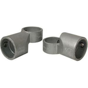 Rohrverbinder -Winkelgelenk 80-220° verstellbar-, aus Temperguss, TÜV-geprüft, VPE 5 - 10 Stk. (für Rohr-Durchmesser/Menge:  <b>26,9 mm</b> / VPE 10 Stk. (Art.Nr.: 31685))