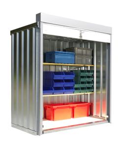 Rollladenbox -STRB 1100-, ca. 2 m², mit Holzfußboden (Ausführung: Rollladenbox -STRB 1100-, ca. 2 m², mit Holzfußboden (Art.Nr.: 31952))