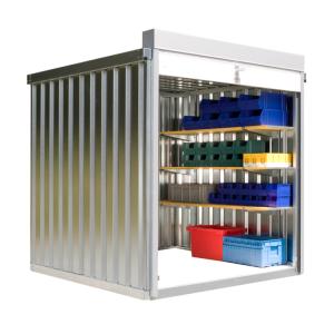 Rollladenbox -STRB 1200-, ca. 4 m², mit Holzfußboden (Ausführung: Rollladenbox -STRB 1200-, ca. 4 m², mit Holzfußboden (Art.Nr.: 31953))