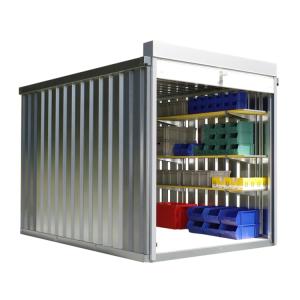 Rollladenbox -STRB 1300-, ca. 6 m², mit Holzfußboden (Ausführung: Rollladenbox -STRB 1300-, ca. 6 m², mit Holzfußboden (Art.Nr.: 31954))