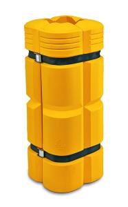 Säulenanfahrschutz -Mountain- aus Polyethylen, für Säulenmaß 200 - 300 mm, Höhe 1100 mm (Ausführung: Säulenanfahrschutz -Mountain- aus Polyethylen, für Säulenmaß 200 - 300 mm, Höhe 1100 mm (Art.Nr.: