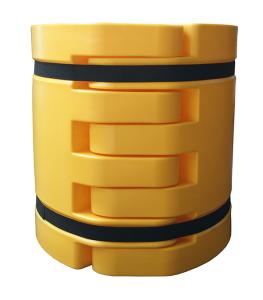 Säulenanfahrschutz -Rack Armour-, aus HDPE, für Säulenmaß 100-200 mm oder 350-500 mm (Säulenmaß: 100 - 200 mm (Art.Nr.: 37846))