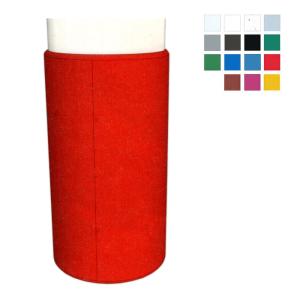Säulenschutzprofil aus HDPE -Defender R20- für Rundsäulen, Profiltiefe 20 mm