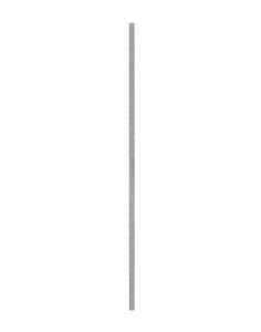 Schaftrohr nach TL aus Aluminium, Vierkantrohr 40 x 40 mm (Länge: 2,00 m (Art.Nr.: 34020a20))