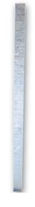 Schaftrohr nach TL aus Stahl, Vierkantrohr 40 x 40 mm (Länge: 1,50 m (Art.Nr.: 34748))