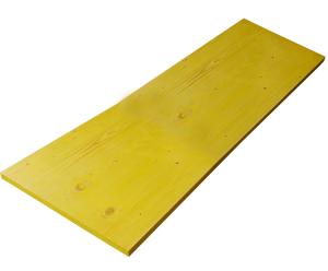 Schalungsplatte 3-Schicht, Breite 500 mm, L&auml;nge 1500 - 2500 mm (L&auml;nge/Kantenschutz:  <b>1000 mm</b>/ohne Kantenschutz (Art.Nr.: 102110))