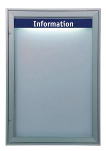 Schaukasten -Infomedia M- 750 x 1090 mm mit Sicherheitsschloss