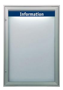 Schaukasten -Infomedia M- 850 x 1240 mm mit Sicherheitsschloss