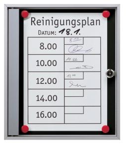 Schaukasten -Infomedia SK- 680 x 890 mm DIN A1, mit Sicherheitsschloss