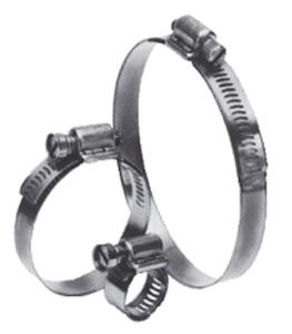 Schellen mit Schneckenantrieb, rostfrei (Spannbereich: 40-60mm (Art.Nr.: ts004006))
