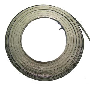 Schellenband -Kennflex- für alle Standard-Schilderträger (Material/Breite: Stahl, verzinkt / 9,53 mm (Art.Nr.: 90.3926))
