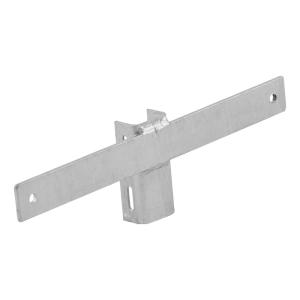 Schiebeschelle, leichte Bauart, für mittige Befestigung, Stahlbandmontage (Steglänge: 200 mm (Art.Nr.: ssb1200))