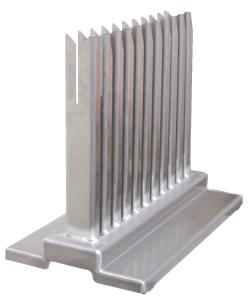 Schilderhalter für Flachform-Schilder, aus Aluminium (Ausführung: Schilderhalter für Flachform-Schilder, aus Aluminium (Art.Nr.: 32019))