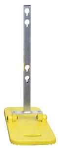 Schilderständer mit integrierter Fußplatte, klappbar (Ausführung: Schilderständer mit integrierter Fußplatte, klappbar (Art.Nr.: 32017))