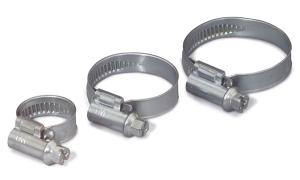 Schlauchschellen -Kennflex- fertig konfektioniert (Nennweite/Material: 12-20 mm / Stahl, verzinkt (Art.Nr.: 90.3934))