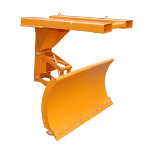 Schneepflug -Typ SCH-P- aus Stahl, Einfahrtaschen oben, mit automatischem Niveauausgleich (Modell/Räumbreiten/Schildbreite/Gewicht: Stahlschürfleiste<br>1100, 1300 und 1500 mm<br>1500 mm / 195 kg (Art.Nr.: 38288))